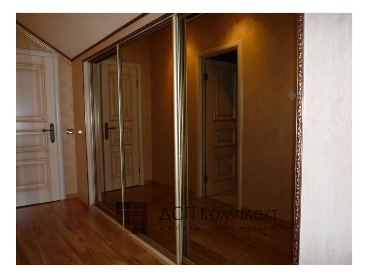 Двери купе зеркальные своими руками