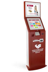 Московским кредитным банком банкоматы